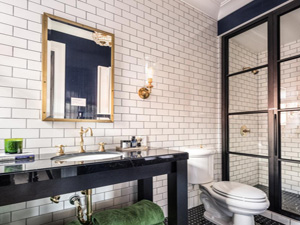 Bathroom Design Quiz tired of march madness? spot four top bathroom designs instead