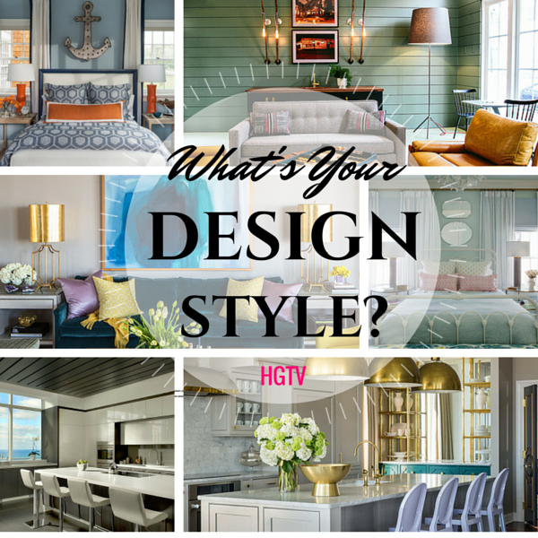 Hgtv find your design style quiz for Design styles for your home quiz