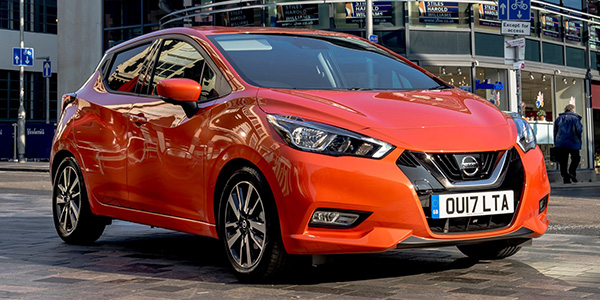 Nissan Micra's standard safety equipment
