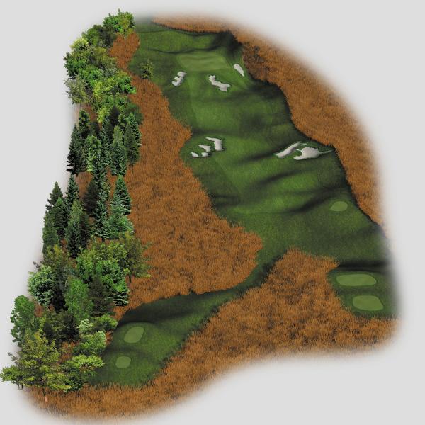 Erin Hills Course Guide - Erin hills us open map