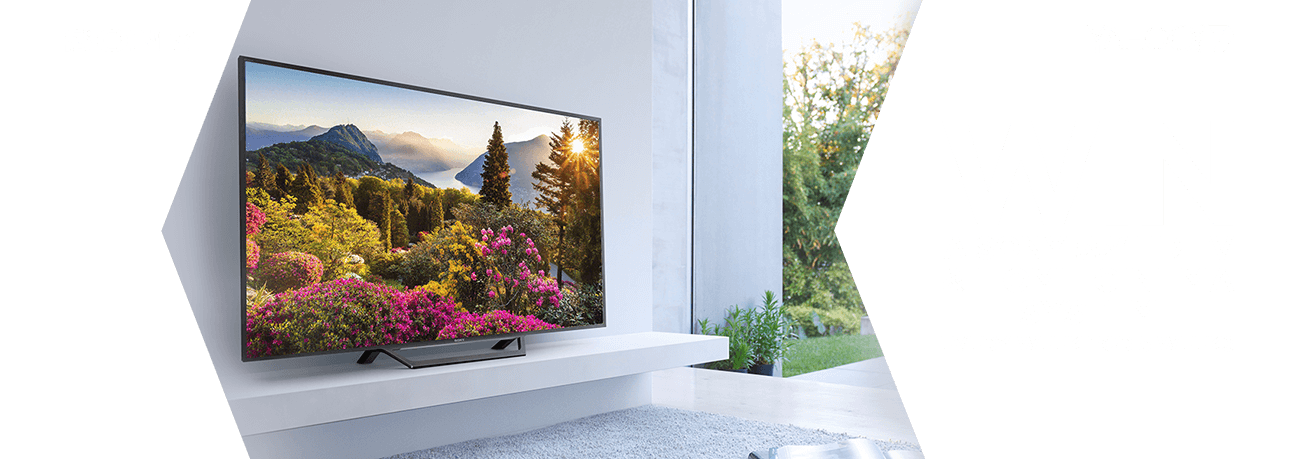 "Every week for 5 weeks WIN a Sony 55"" HD TV & Home Cinema System"