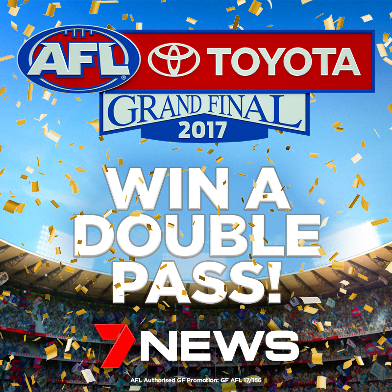 7 News Melbourne, Win 1 of 5 double passes to the 2017